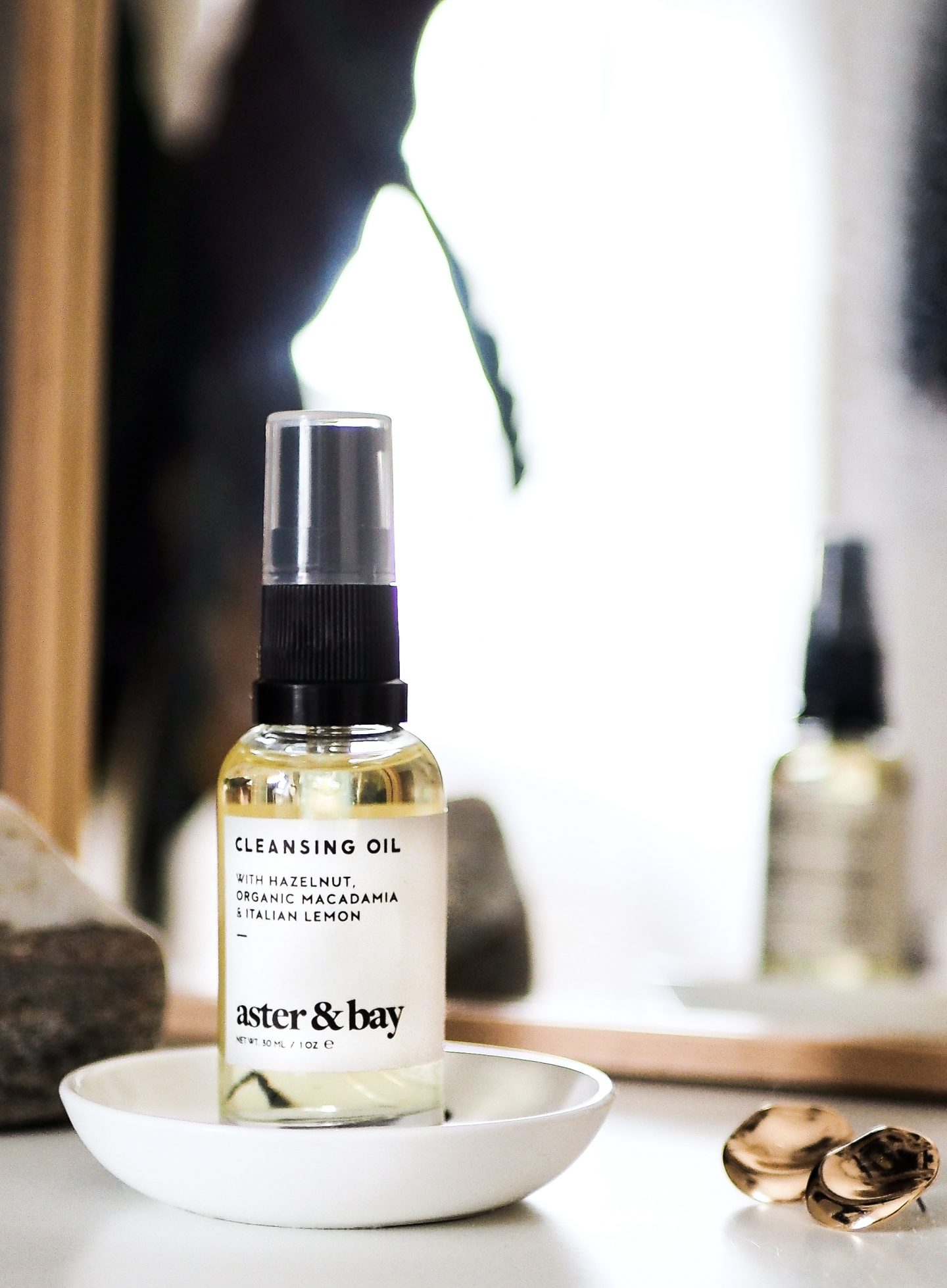 Aster & Bay Cleansing Oil (yes, even for you oily types!)
